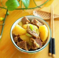羊肉炖土豆