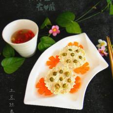 莲蓬鸡肉豆腐