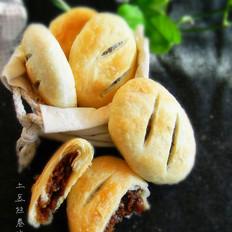 玫瑰糯米馅酥饼