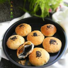 黑芝麻糖椰蓉酥饼