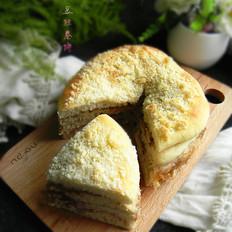 酥粒果酱夹层面包