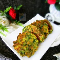 杂面芹菜叶饼
