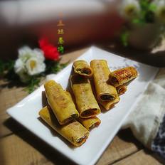 豌豆豆皮肉卷