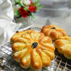 椰香菊花面包