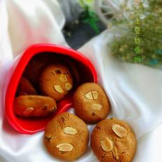 杏仁片葡萄干饼干