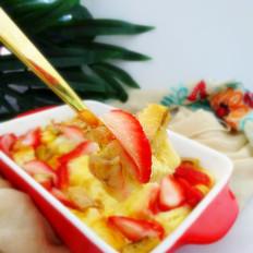 草莓香蕉布丁
