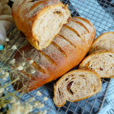 果仁法式乡村面包