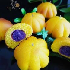 紫薯南瓜包