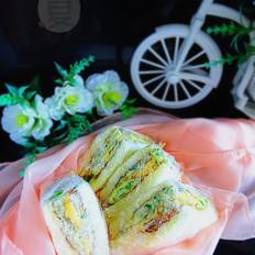 蛋香芝士三明治