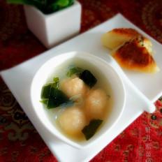 虾丸紫菜粉丝汤