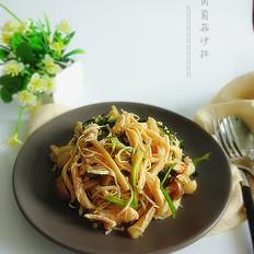 鸡肉菌菇沙拉