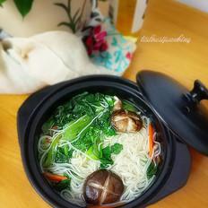 香菇蔬菜面