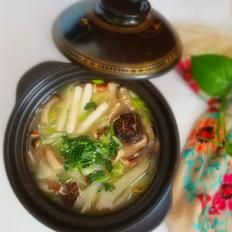 菌菇年糕汤