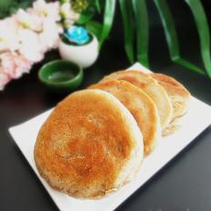 葱香褐麦发面饼
