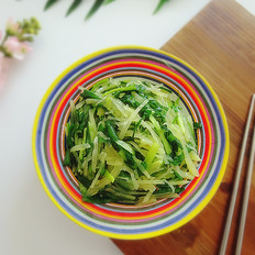 韭菜炒土豆丝