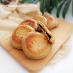糖芝麻荞麦发面饼