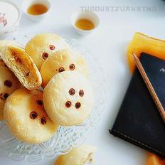 绿豆豆沙酥饼