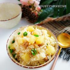 土豆肉丁焖饭