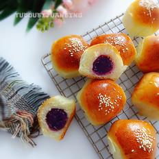 淡奶油紫薯小餐包