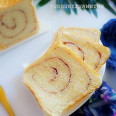 果酱面包卷