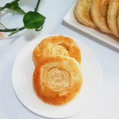 椒盐油酥发面饼