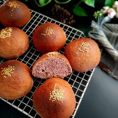 黑米粉奶香面包