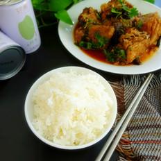 红焖金枪鱼&米饭