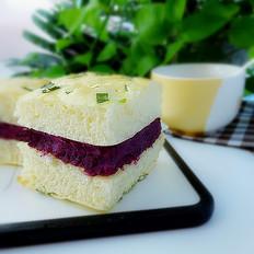 紫薯面包块