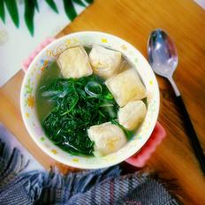 婆婆丁豆腐汤