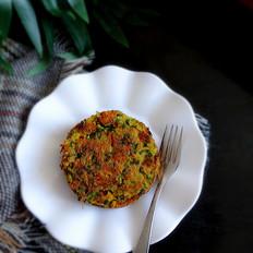 韭菜豆腐饼