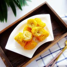 烤箱版脆皮香蕉
