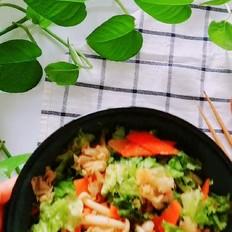 酸甜菌菇拌菜
