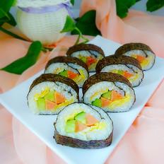 火腿鸡蛋寿司