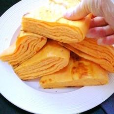 千层胡萝卜发面饼