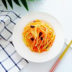 胡萝卜拌土豆丝