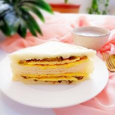 早餐面包夹