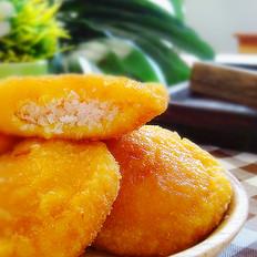 脆皮椰香南瓜炸糕