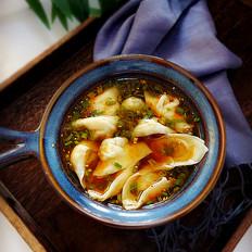 酸辣汤饺子