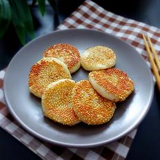香甜芝麻糯米饼
