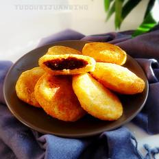 小红豆炸糕
