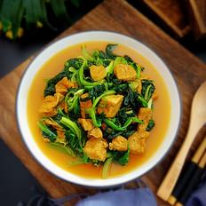 菠菜豆腐泡