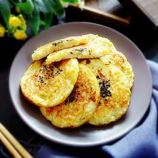 米饭苹果煎饼