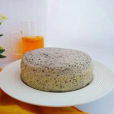 黑芝麻蒸蛋糕