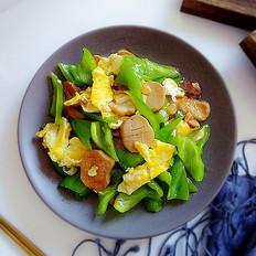 鸡蛋杏鲍菇炒尖椒