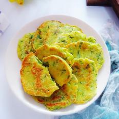 小白菜杂面饼