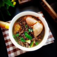 鸡腿蘑菇汤