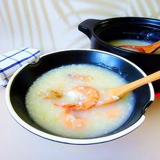 鲜虾营养粥