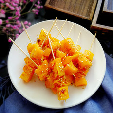 串烤地瓜的做法