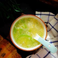 角瓜鸡蛋汤