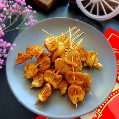 小烤杏鲍菇